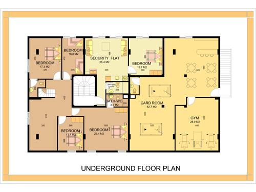 Home ideas for Basement apartment floor plans